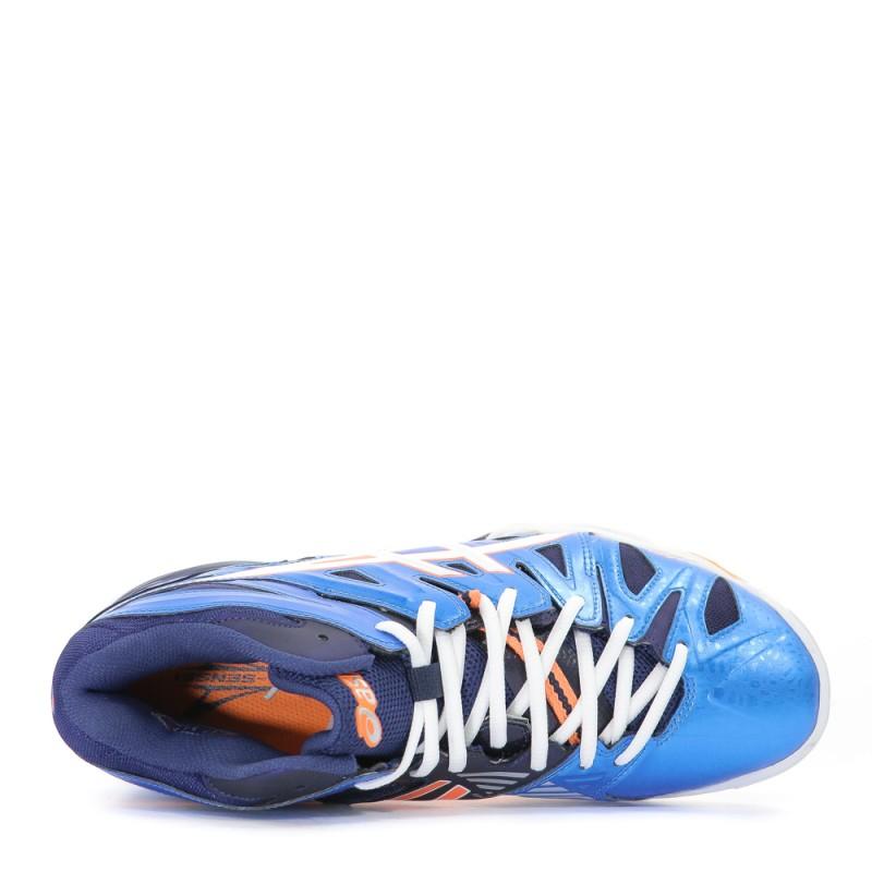 Gel Sensei 5 Montante Homme Chaussures Volley Ball Bleu Asics