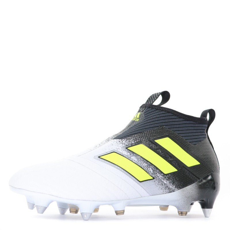 Ace 17+ Purecontrol SG Homme Chaussures Football Blanc Noir