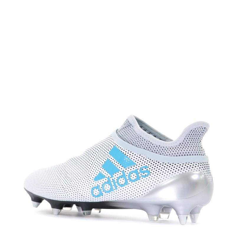 X 17+ Purespeed FG Homme Chaussures Football Blanc Adidas