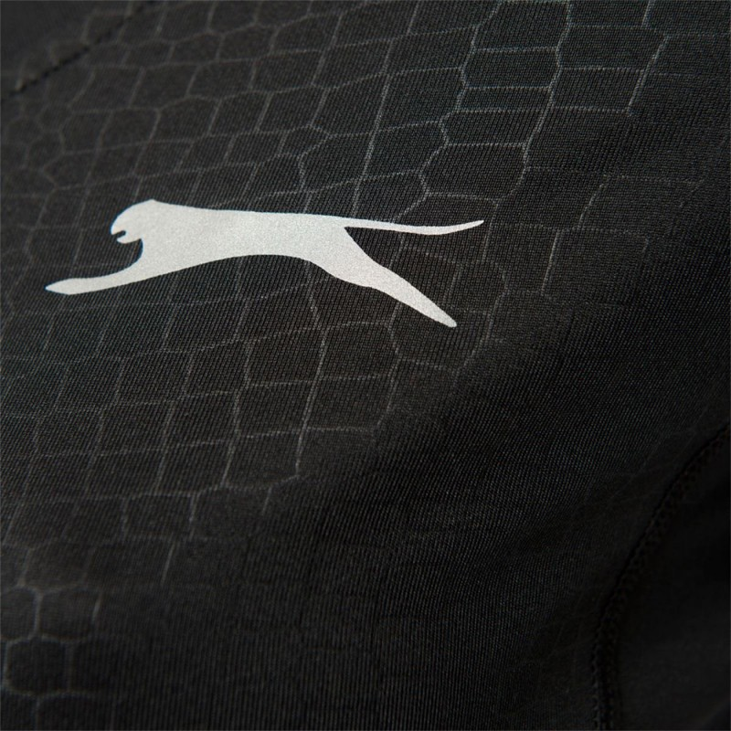 Dawn Femme Tee-shirt Sport Noir Slazenger