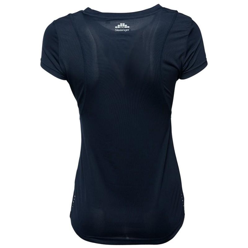 Joyner Femme Tee-shirt Sport Marine Slazenger