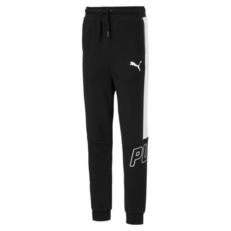 Jogging noir enfant Puma style  af6b26b25361