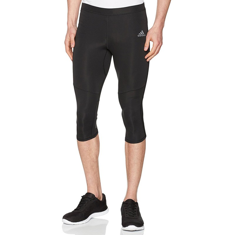 Response Homme Collant 34 Running Noir Adidas