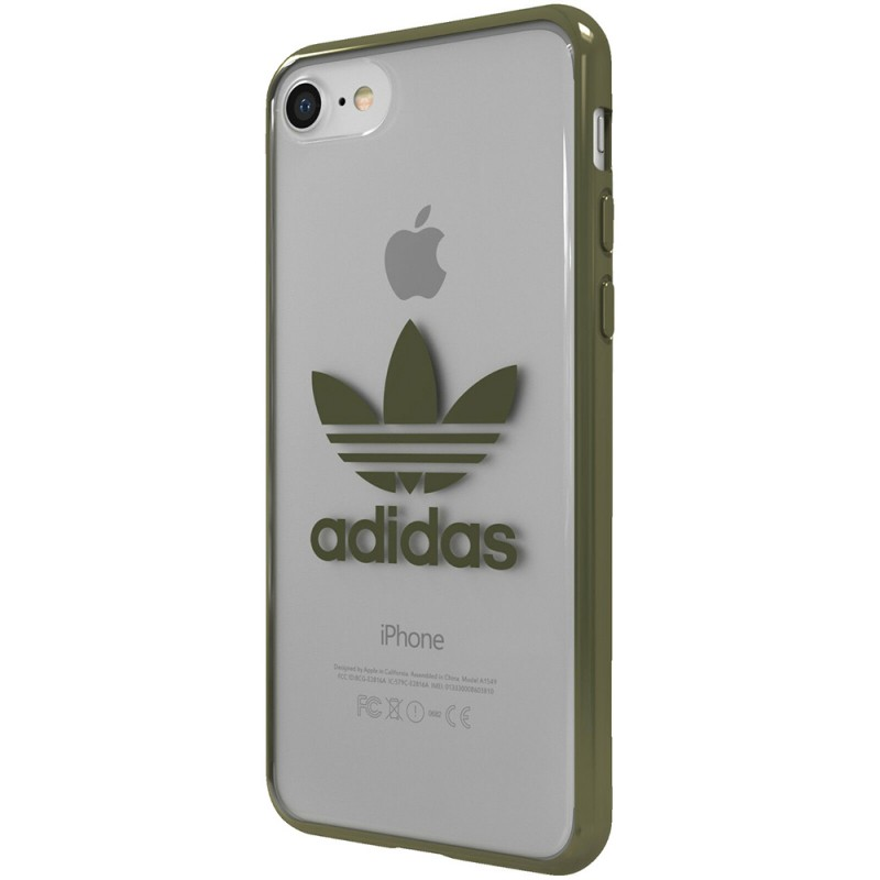 coque iphone 7 telephone gris adidas