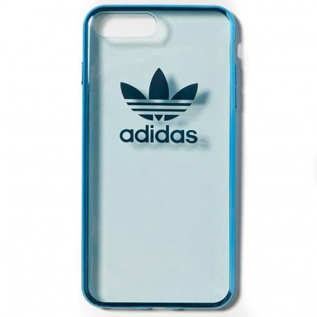 Coque iPhone 7 Téléphone Bleu Adidas