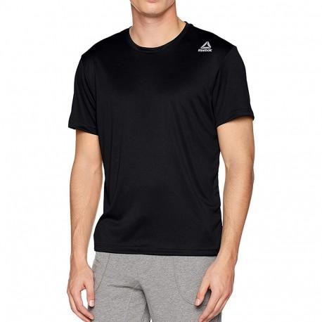 Run Homme Tee-shirt Running Noir Reebok