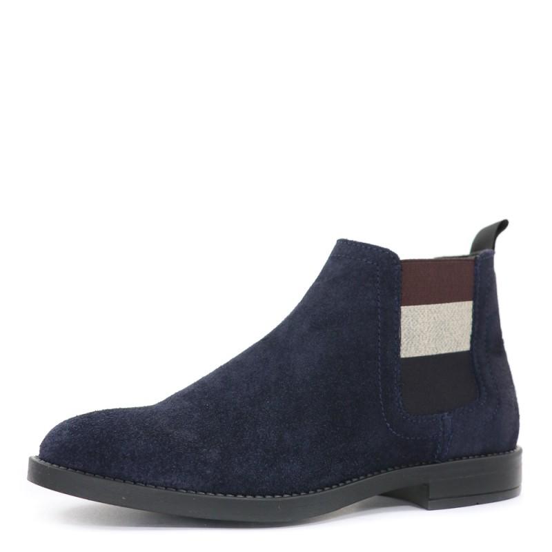 Essential Chelsea Boots femme Tommy Hilfiger bleu marine