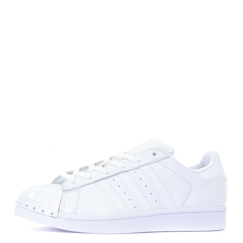 design de qualité 4956b 17e15 Superstar Metal Toe baskets femme Adidas blanc