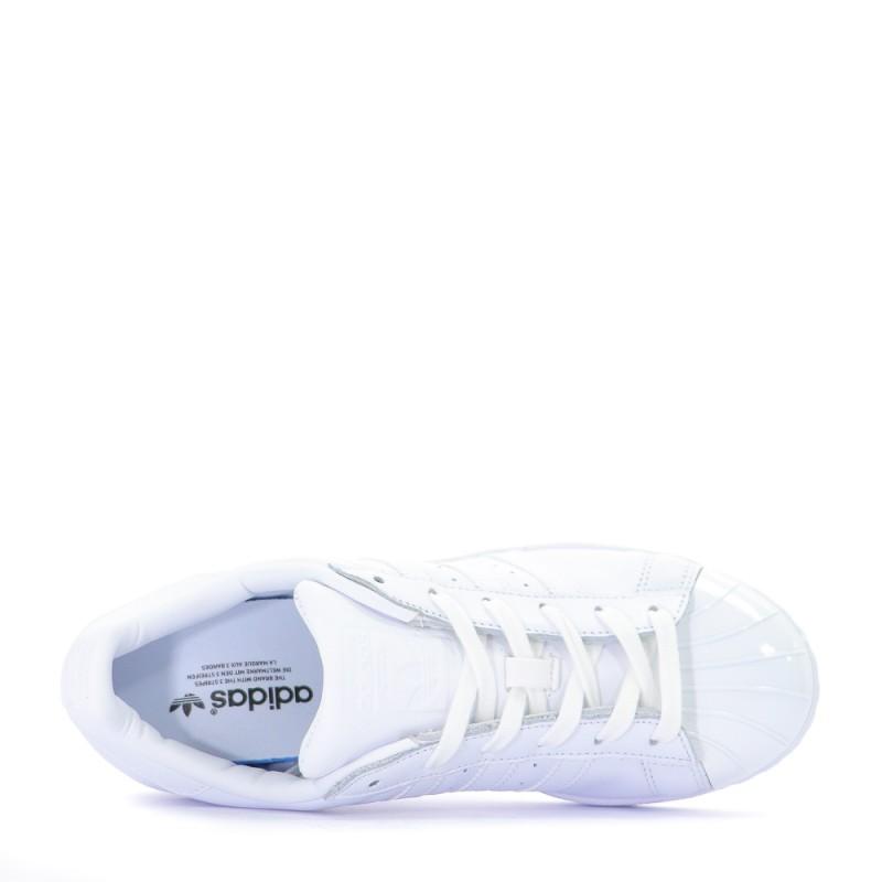 Superstar Metal Toe baskets femme Adidas blanc