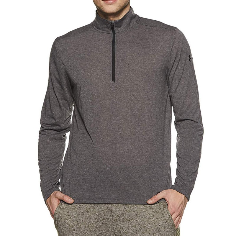 Threadborne Homme Tee-shirt Running Gris Under Armour