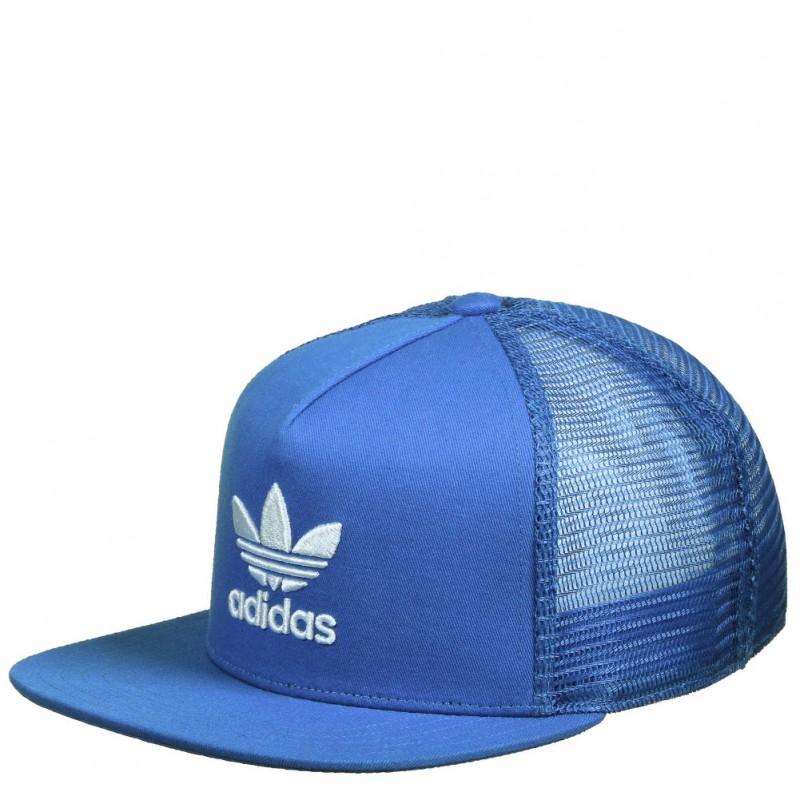 Trefoil Trucker Garçon Snapback Bleu Adidas