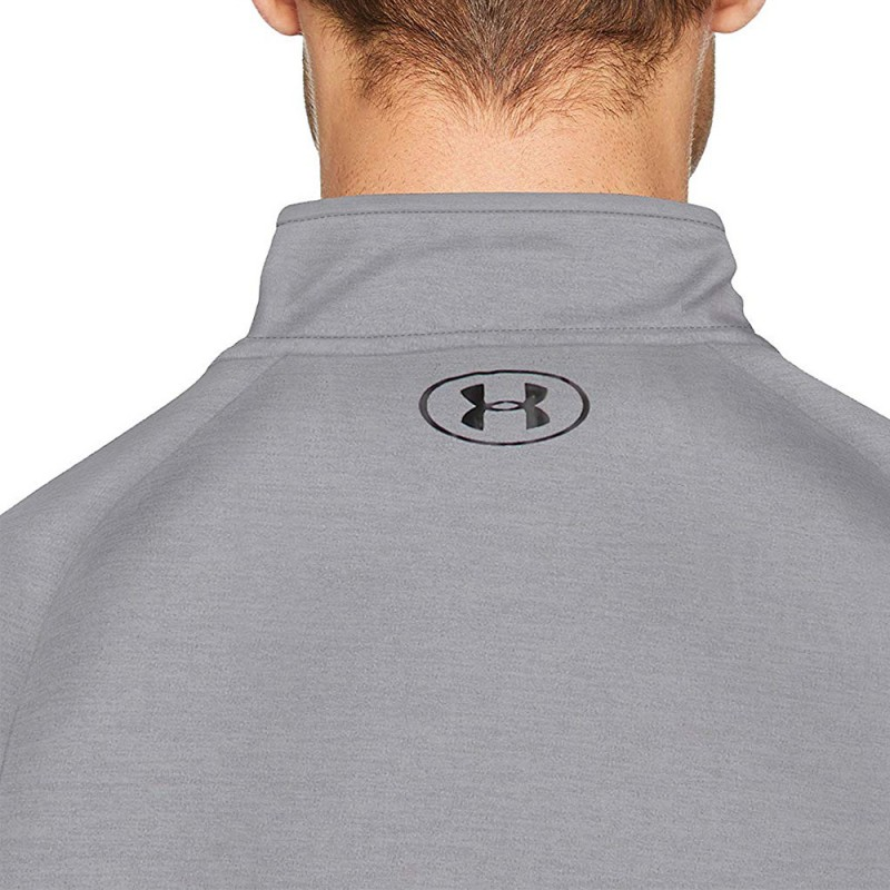 1/2 Zip Homme Tee-shirt Gris Under Armour