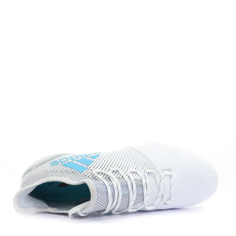 X17.1 FG CUIR Homme Chaussures Football Blanc Adidas