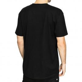 T-shirt noir Supra Sphere