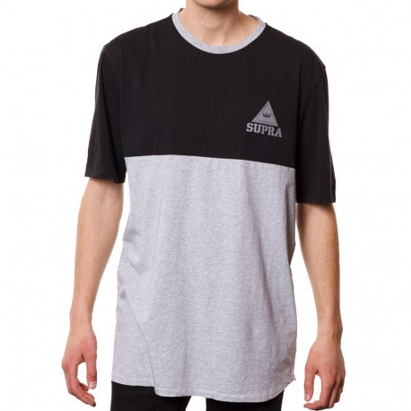 T-shirt homme Supra Color blocked crew