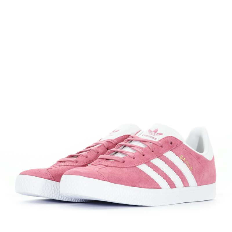 nouveau concept 89a1c 67783 Gazelle Fille Chaussures Rose Adidas