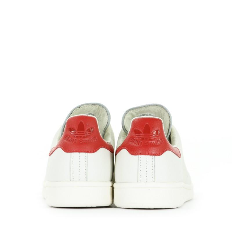 Stan rouge Adidas Chaussures Ecru Homme Smith OiPuXlwkZT