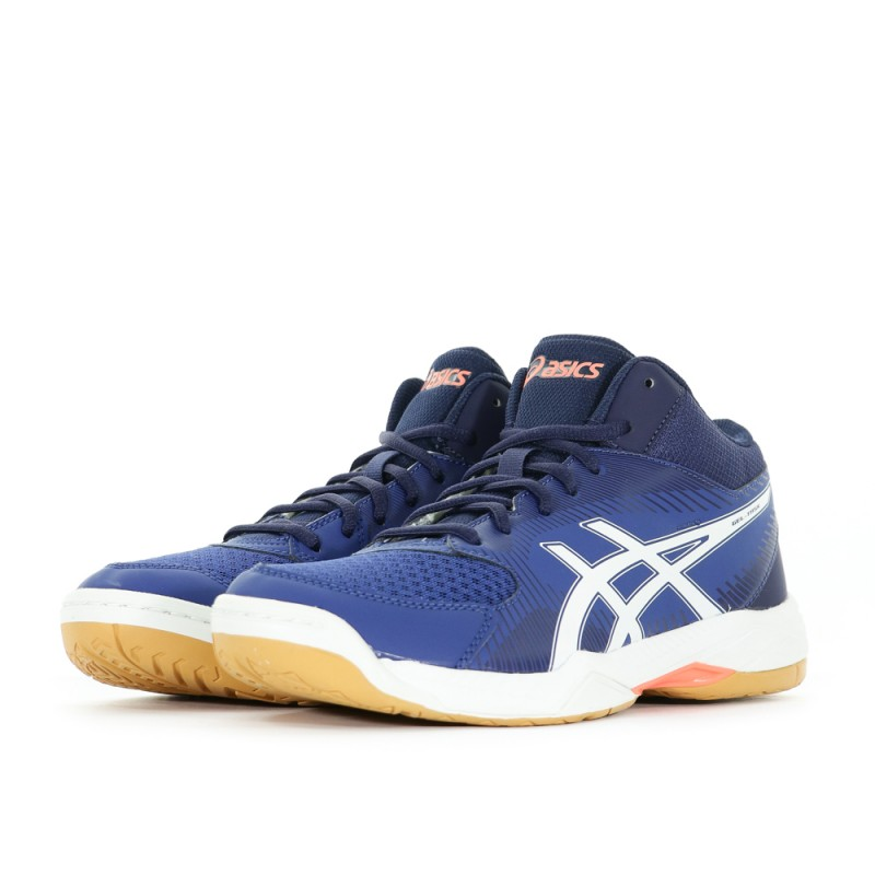 Montante Gel Task ball Chaussures Homme Volley Bleu Asics nP0Owk8