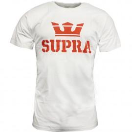 Above Homme T-shirt Blanc Supra