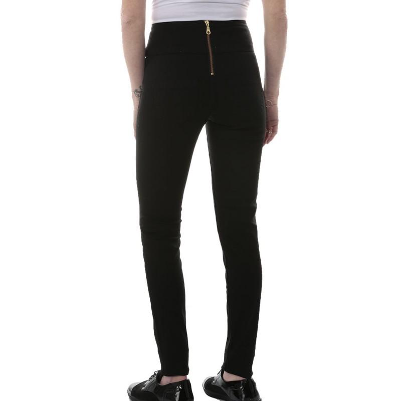 Pantalons Femme Funky Highwaist BlkJegging Pieces 80knwOPX