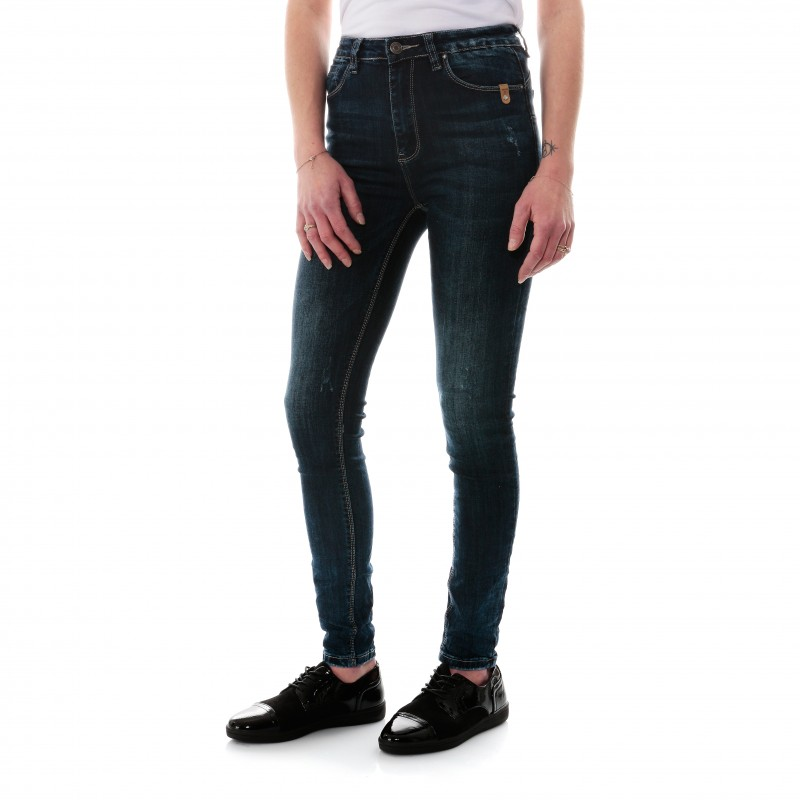 Femme Premium Like Me Jean Pantalon Bleu Monday qSzVMUpG