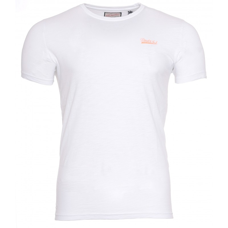 Tee-shirt Homme Petrol Industries Blanc Pas