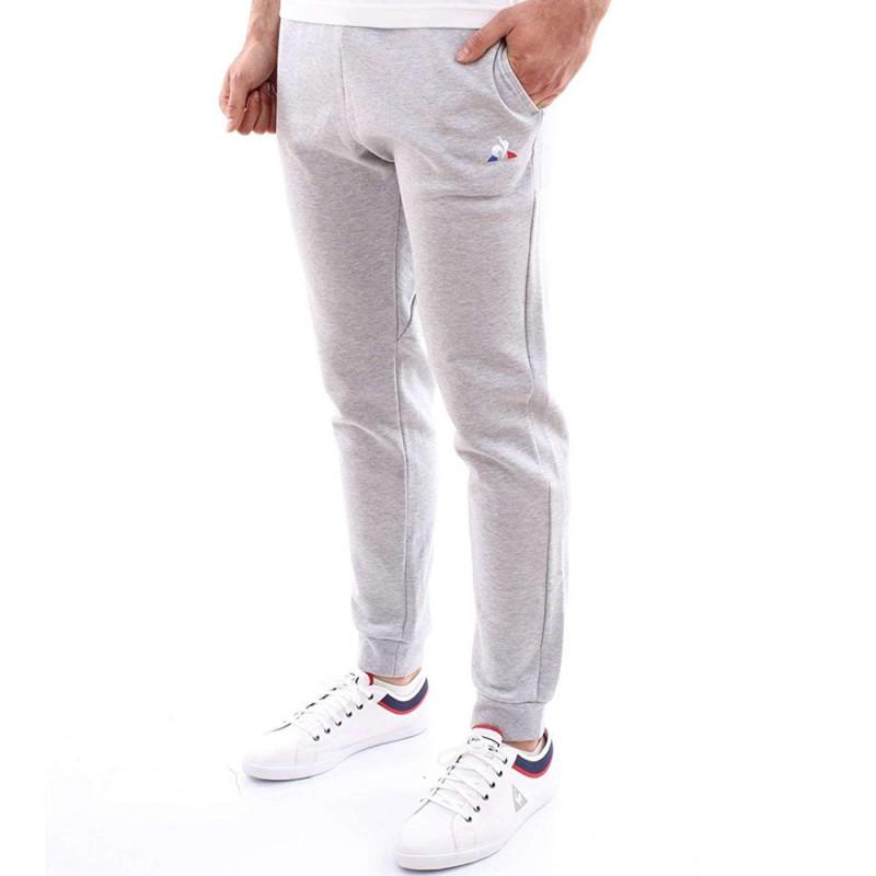 Pantalon Le Coq Sportif Homme Gris Pas cher | Espace des Marques