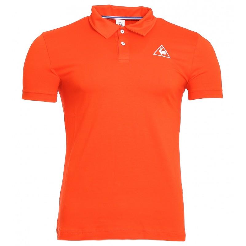 Tee-shirt Le Coq Sportif Homme Orange pas