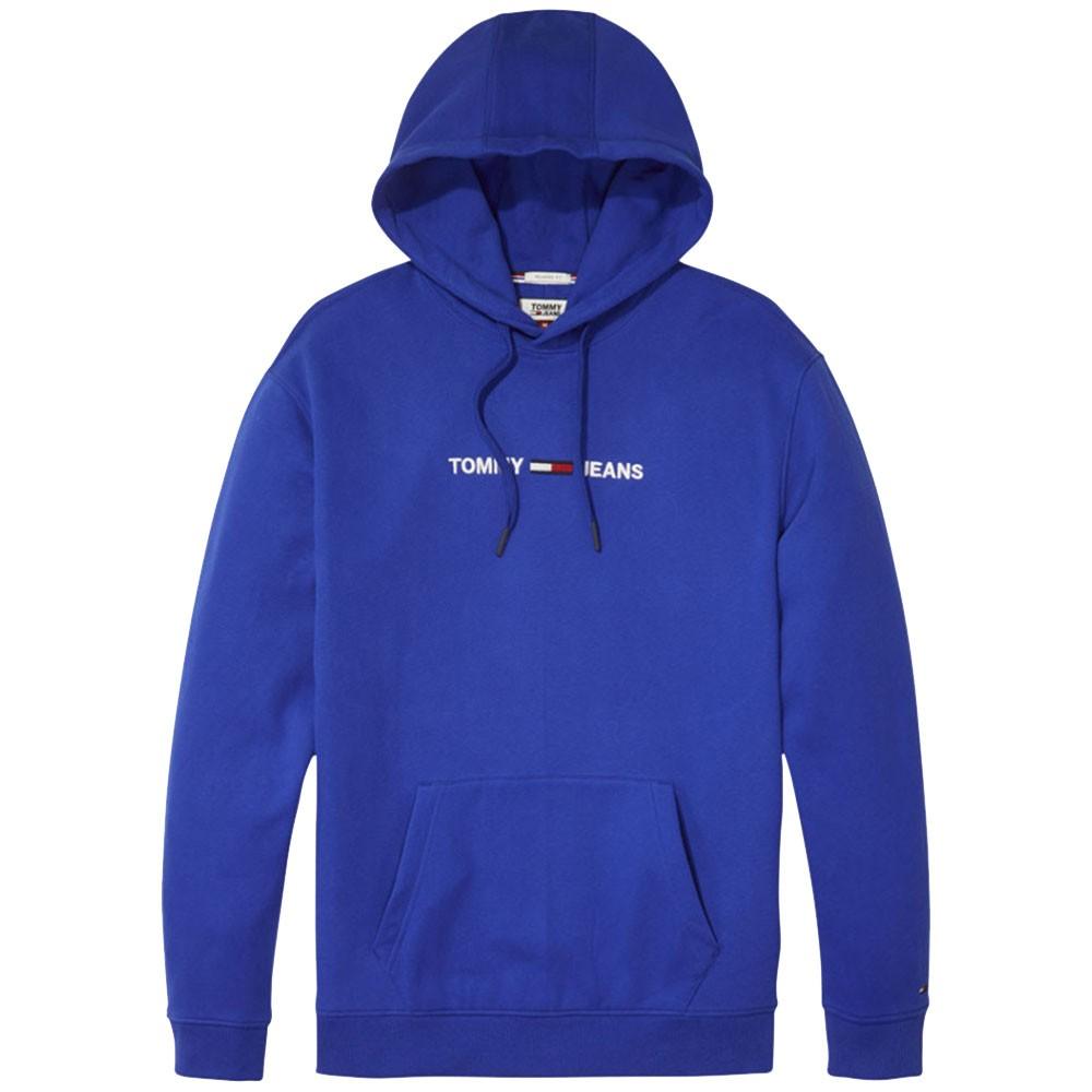 60% de réduction correspondant en couleur prix compétitif Détails sur Sweat à capuche bleu homme Tommy Hilfiger Bleu