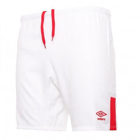 Short blanc homme RC Lens third devant logo Umbro