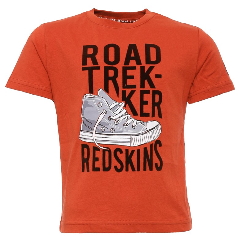c98ac90a963e1 T-shirt rouge Enfant Redskins pas cher