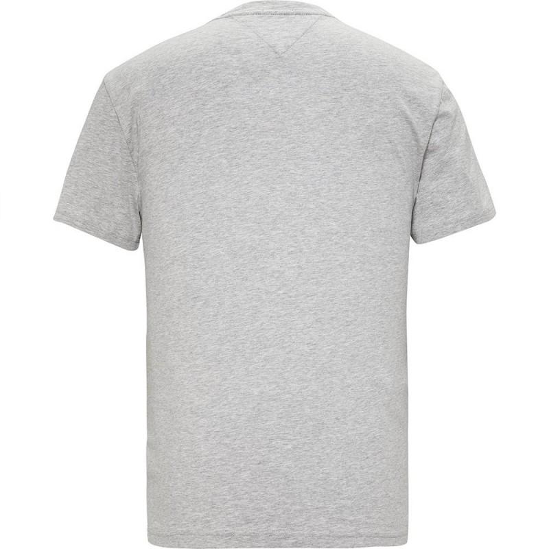 T-shirt gris Homme Tommy Hilfiger