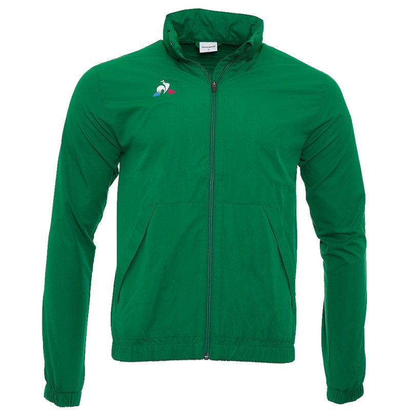 grossiste e455c 28feb N°1 Bosphorus Homme Veste Football Vert Le Coq Sportif