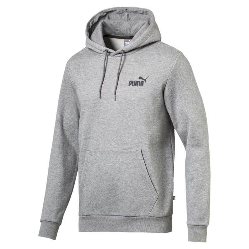 Hoodie / Sweat à capuche gris Puma pas cher