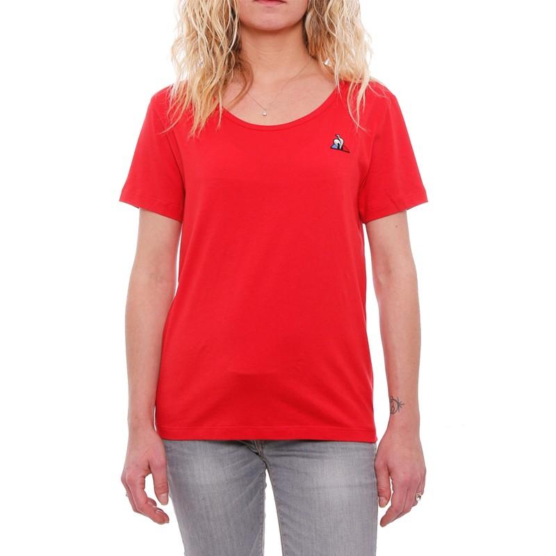 Rouge Le Coq Espace T Cher Pas Marques Femme shirt Des Sportif rBWCxdoe