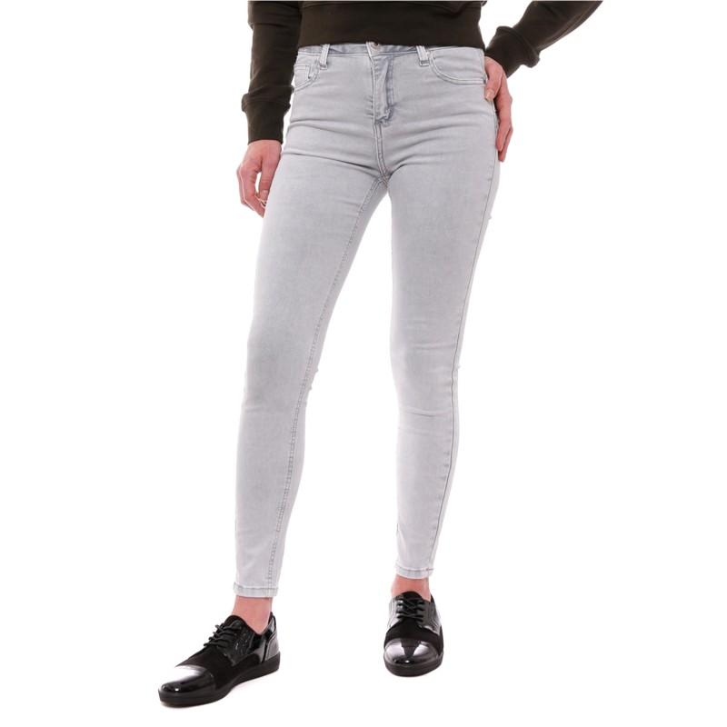 super populaire 4325b e4f27 Jean gris clair Femme pas cher | Espace des Marques