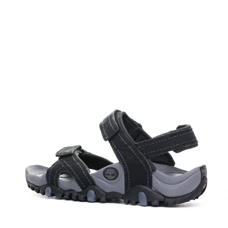 Sandales noires Homme Timberland pas cher   Espace des Marques