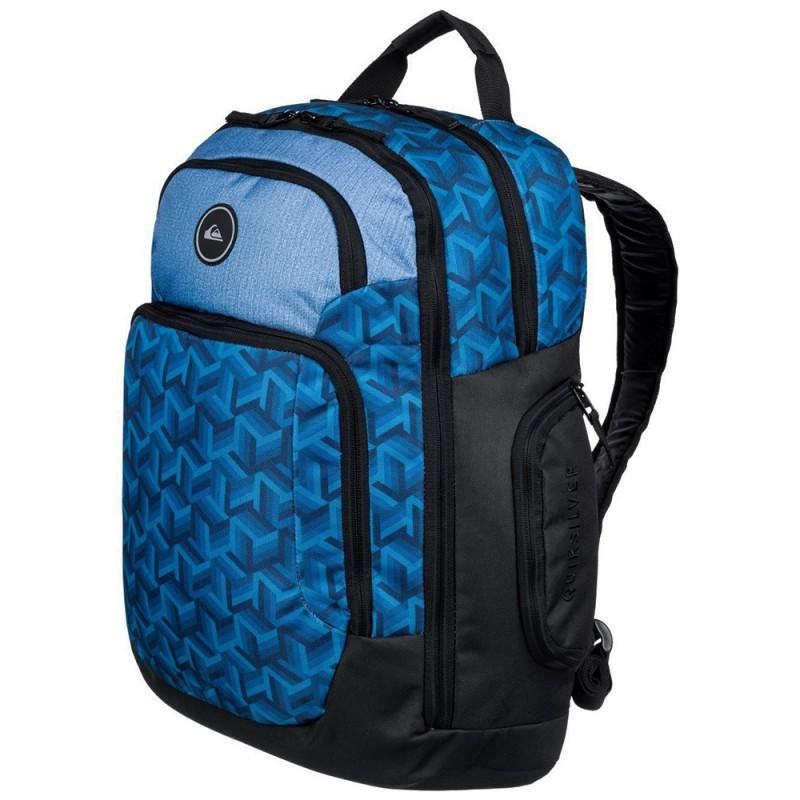 sac dos quiksilver bleu pas cher espace des marques. Black Bedroom Furniture Sets. Home Design Ideas