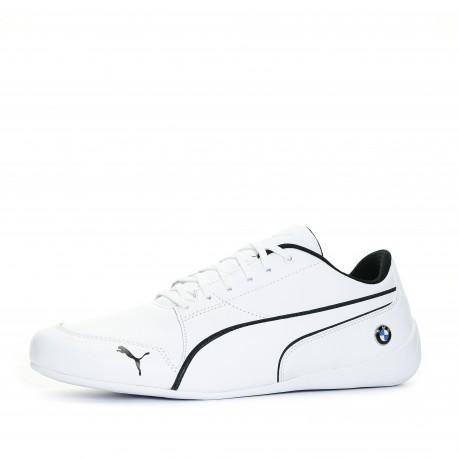 3d5c65e10d954 BMW MS Drift Cat 7 Baskets blanc homme Puma pas cher