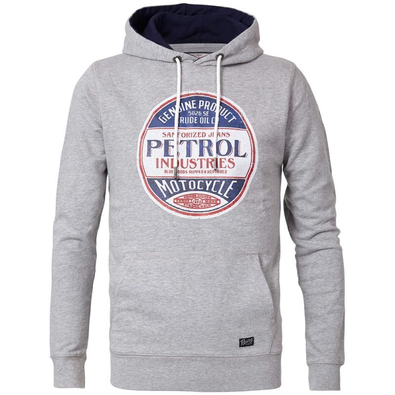 Sweat Petrol Industries gris Pas cher   Espace des Marques
