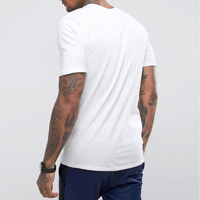 tee shirt homme nike blanc
