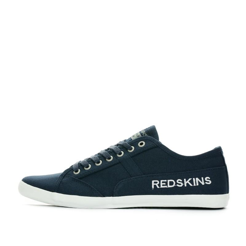 4e4abd444c1 ... Baskets-en-toile-Bleu-marine-Homme-Redskins-pas- ...