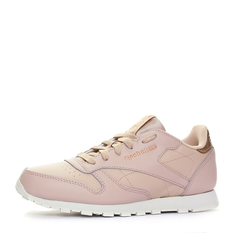 Chaussures Reebok classic leather pastels femme rose femme