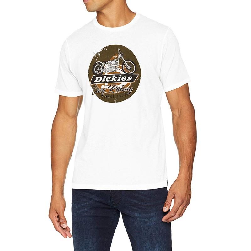 tee-shirt-blanc-homme-dickies-vue-devant
