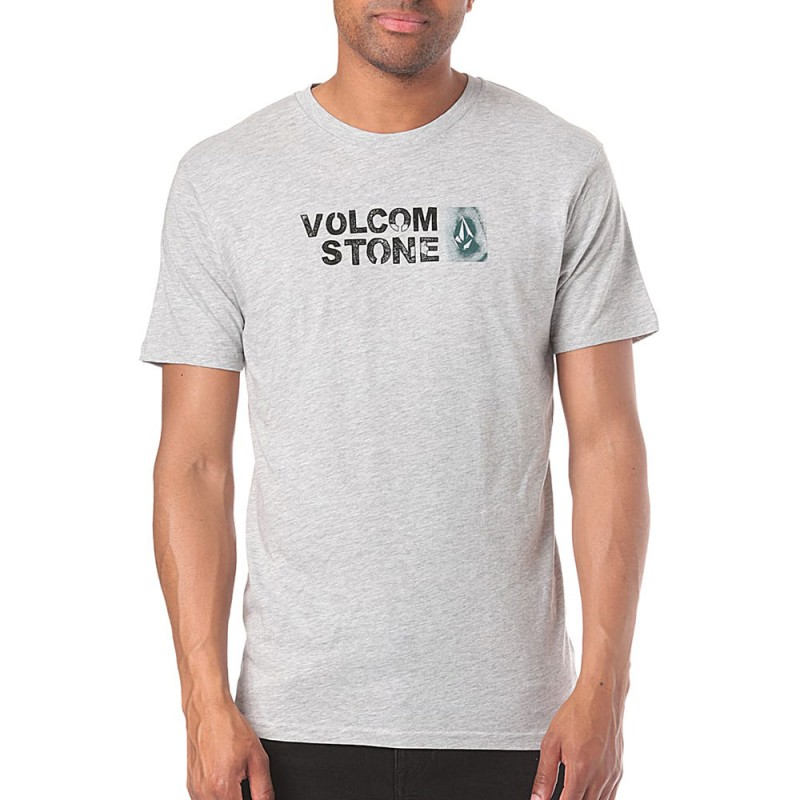 T-shirt gris homme Volcom pas cher | Espace