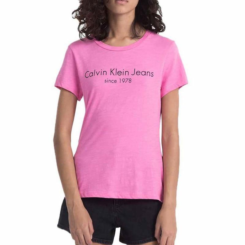 Femme Rose Klein Calvin T Shirt UVqSzMp