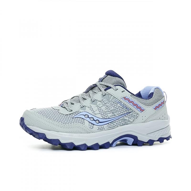 Chaussures de running bleu femme Saucony pas cher   Espace