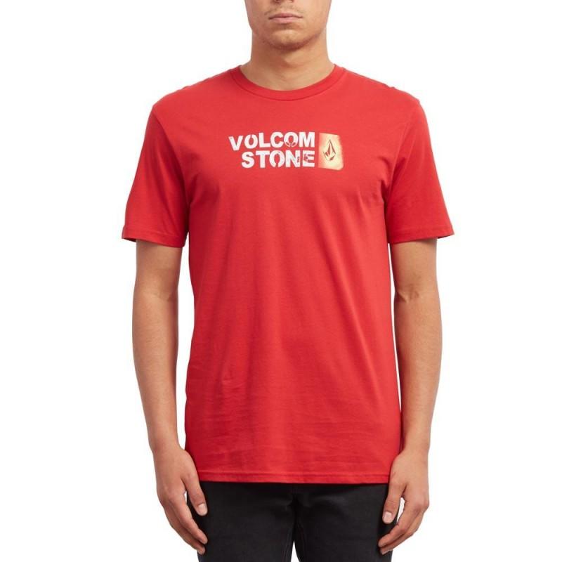 T-shirt rouge homme Volcom pas cher | Espace