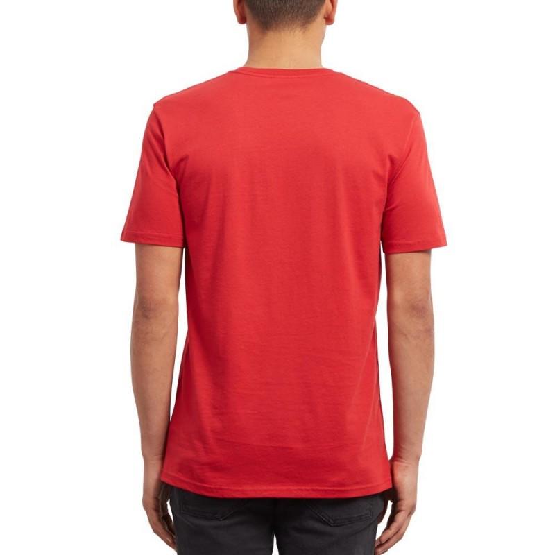 t shirt rouge homme pas cher