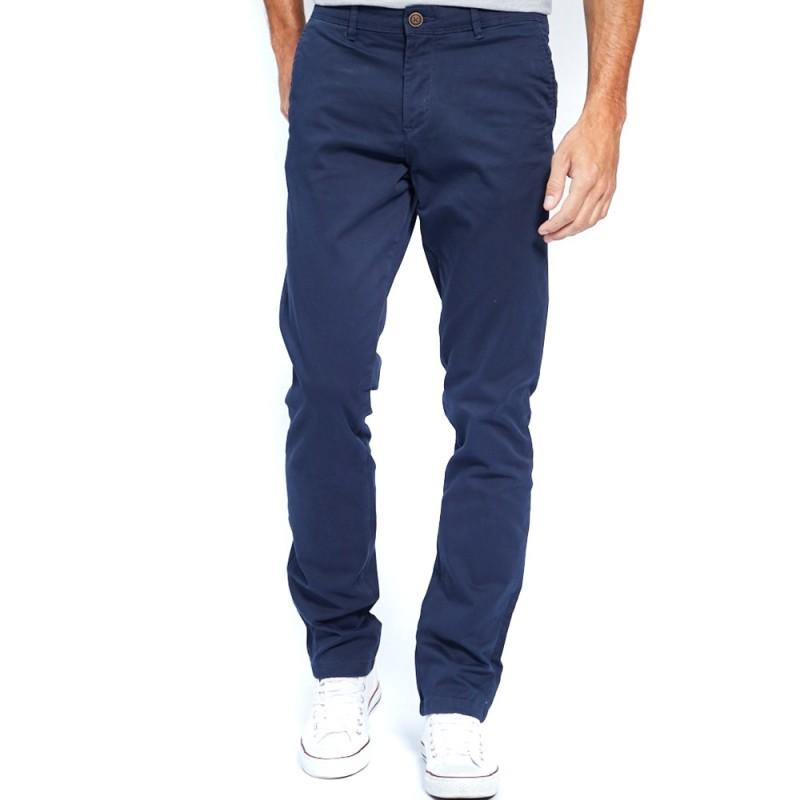 Pantalon Chino Homme Marine Jack \u0026 Jones